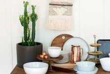 mrs.peasy tabletops / Party Box Rentals - San Francisco   Heath Ceramics, Eric Bonin, WRF Labs, Copper, Ceramics, Tabletop, Decor