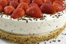 Dessert og isdessert / Livet er kort Spis desserten først