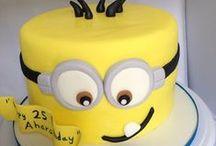 Taart ideeën voor Jongens en Meisjes / Leuke ideeën om feestelijke taarten te maken voor jongens en meisjes...