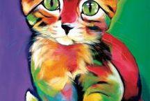 Maľované zvieratká
