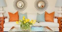 Color Crush - Coral & Turquoise / Aqua, Turquoise and Coral decor, fashion, and design // coral aqua, throw pillows, master bedrooms, living room ideas