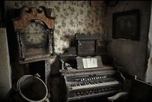 whimsical spaces / Interior and exterior inspirations. Abandoned buildings, architecture, store displays, photographs