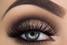 Eyes. / Pretty eye make-up.