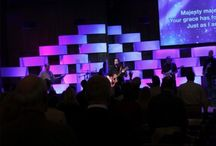 Church Stage Design / Ideas for church staging and displays