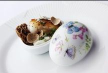 Royal Copenhagen Easter / Inspired by Royal Copenhagen's first Flora Danica service from 1790, our Spring Eggs are an annual tradition. Adorned by the colours of spring, the birds and flowers welcome the warmth of the Sun back into our days. Be it flora or fauna, every year sees another range of life-affirming eggs for your spring tables.