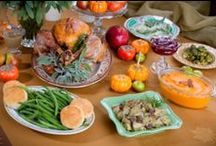 Thrifty Thanksgiving / Celebrate the day with family, friends and food while keeping your budget in mind.
