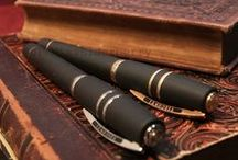 The pens I want to write with / Fountain pens I have, or want; inks; papers, journals; assorted interesting related materials.