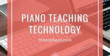 Piano Teaching Technology