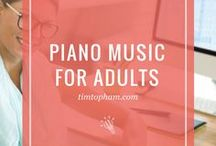 Piano Music for Adults
