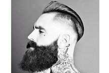 Style, Hair, Ink, Beard