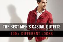 Men's Casual Outfits / A collection of inspiration for men's casual outfits.