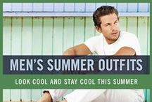 Men's Summer Outfits / Whether you're at the beach chilling with your friends, or at a park for a summer picnic, you can still have great style. Here is a collection of summer outfits for your inspiration. Beat the heat but look good doing it too!