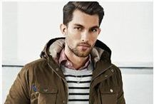 MEN'S FALL OUTFITS / With the fall season upon us, get ready for the cold weather with a preview of fall inspired men's fashion.