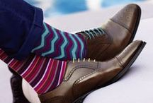 Stylish Men's Socks / A collection of crazy and fashionable men's socks. #socks #fashion #menswear #mensstyle