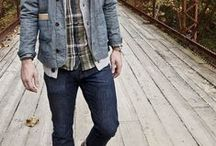 Men's Denim on Denim Style