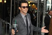 Adam Levine Style / Adam Levine formed the band Kara's Flowers in 1994. After their first album, The Fourth World, failed, the band split up. Levine later reformed the band as Maroon 5. Their first album, Songs About Jane, went multi-platinum. The band has since received three Grammy Awards. Levine was featured as a vocal coach on The Voice in 2011. Enjoy the Famous Outfits of Adam Levine.