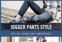 Men's Joggers Style / Joggers are getting more popular, and if you're a fan of them, they are perfect for the colder weather. Enjoy our collection of men's jogger styles for your inspiration.
