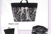 Chipylène / Créations Artisanales -- Hand made Bags to order on www.regionelles.com, click on Mode et accessoires, region Ile de France