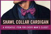 Men's Shawl Collar Cardigan / The shawl collar cardigan is a versatile item that can dress up a casual outfit. You can also use it to transition a dressier outfit into a more casual look. Enjoy our collection of shawl collar cardigan inspiration.