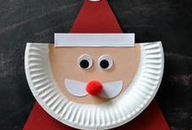 Kids' Christmas / Easy, fun and frugal Christmas decorating and gifts kids can make themselves.