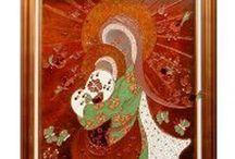 ChrisMarie / Peinture sur Verre - Glass paintings