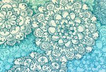 - Zentangle - / Zentangle inspiration