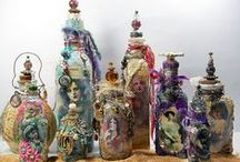 Amazing Altered Bottles / Ideas for making altered bottles