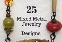 Mixed Metal Jewelry Designs / Great Inspirations for Designs in Mixed Metal Jewelry