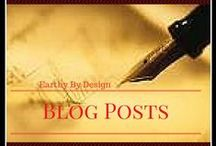 Blog Posts from Earthy By Design / Find Your Favorite Earthy By Design Blog Post Here