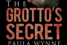 The Grotto's Secret Book Cover / Images from The Grotto's Secret, a historical conspiracy thriller.