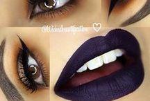 Contour of make-up