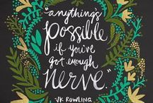 Quotable / quotes, quotable, words, inspiration