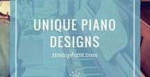Unique Piano Designs
