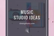 Music Studio Ideas / Inspiration ideas for Music Studios for personal or business use