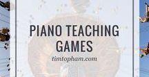 Piano Teaching Games
