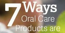 Oral Health / Improvements in oral health and your care products can help you keep your mouth healthy at home between dental check-ins!