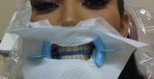 Celebs go to the dentist too! / Celebrity dental selfies! This collection of images helps us remember that everyone has to go to the dentist no matter how famous or rich - oral health is key!