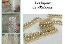 Les Bijoux de Salomée / Bijoux Brodés à la main