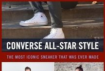 Chuck Taylor All-Star Style / Though the Chuck Taylor All-Stars have gone unchanged for the past 80 years, it remains as the most iconic sneaker ever made. Lace up a pair of Chuck Taylors!