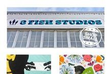 Small Business Saturday! 11/28/2015 / We're hosting some of our favorite local artists on Small Business Saturday! Stop by our Outer Sunset studio on November 28th, 2015 for festive fun and fantastic art, made in San Francisco.
