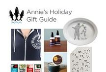 Holiday Gift Guide from 3 Fish Studios: Annie Galvin / Local artist Annie Galvin from San Francisco's 3 Fish Studios shares her holiday gift guide, featuring products from Bay Area and California favorites.