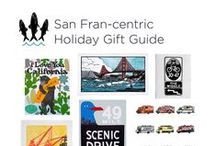 Holiday Gift Guide from 3 Fish Studios: San Fran-centric Art / Local artists Annie Galvin and Eric Rewitzer of 3 Fish Studios share their holiday gift guide for SF aficionados, featuring original, affordable art made in San Francisco.