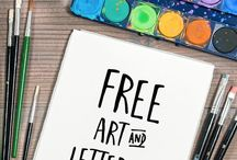 Learn to Hand Letter / Lettering, hand-lettering