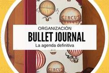 Agendas y cuadernos / Sistema de organización bullet journal, agendas y cuadernos.  http://unarmarioconbuenfondo.com/bullet-journal-la-agenda-definitiva/