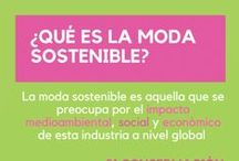 Moda sostenible / Marcas y tiendas de moda sostenible #slowfashion