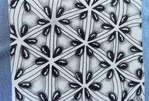 - Zentangle Patterns - / Tangles