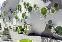 cool gardens :  vertical