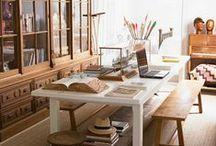Nine to Five / Create a beautiful work space.