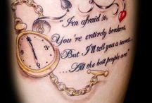 Tattoos ✌ / by Bree Brodine