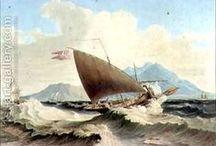 Voyage de Dumas / Illustration du récit de voyage d'Alexandre Dumas en 1835